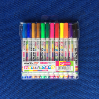 12 Coloured White Board non-toxic pens