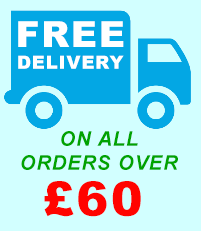 Free delivery on all orders over £60